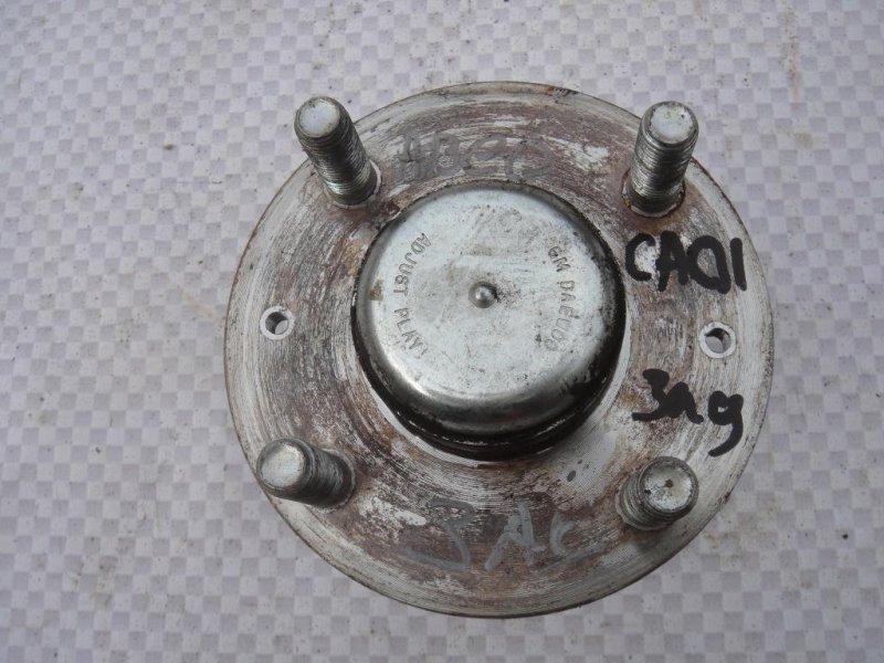 Ступица Chevrolet Aveo T250 F14D3 2008 задняя (б/у)