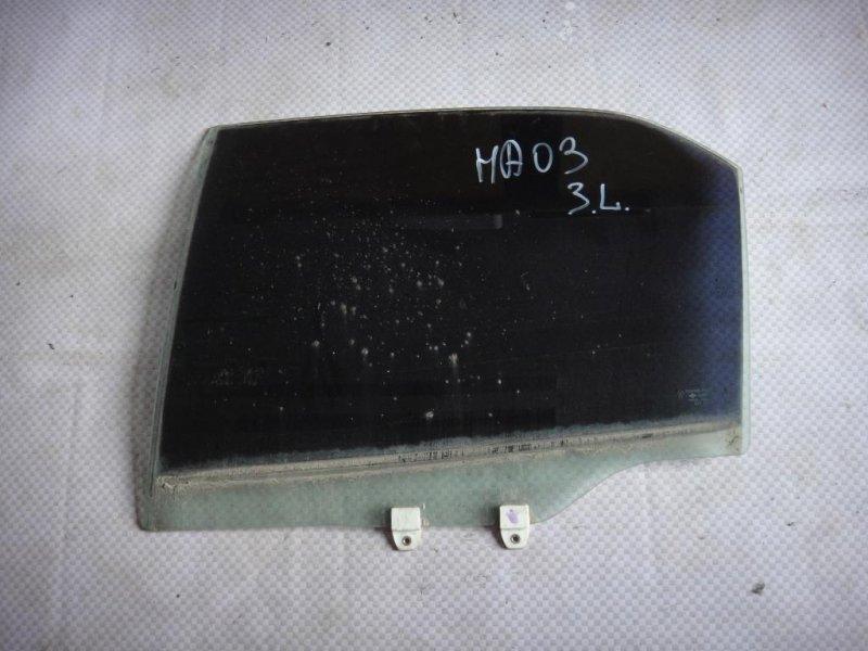Стекло двери Honda Accord CF4 F20B 1998 заднее левое (б/у)