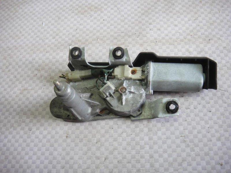 Мотор стеклоочистителя Honda Accord CF4 F20B 1998 задний (б/у)