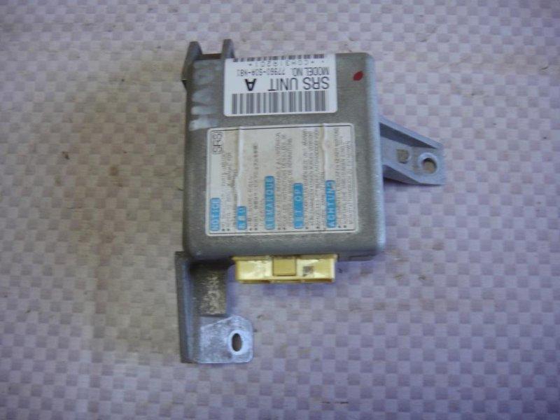 Блок управления air bag Honda Accord CF4 F20B 1998 правый (б/у)