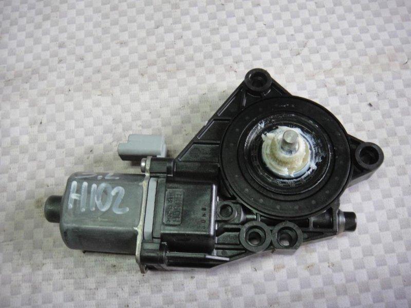 Мотор стеклоподъемника Hyundai I30 FD G4FA 2009 задний левый (б/у)