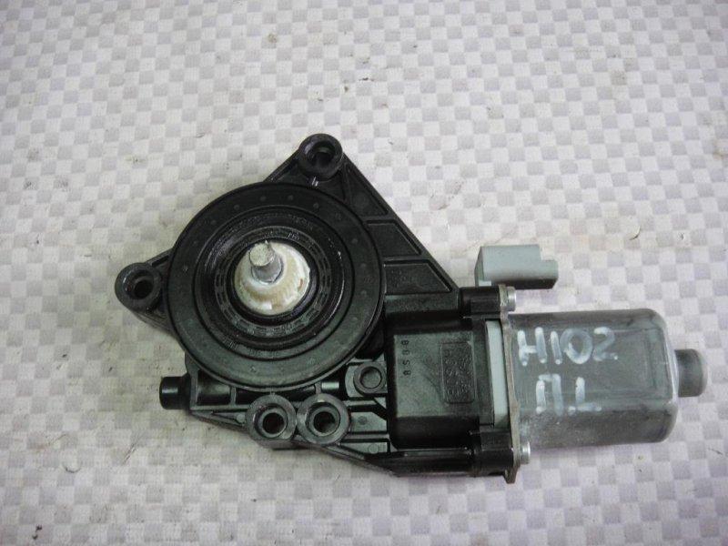 Мотор стеклоподъемника Hyundai I30 FD G4FA 2009 передний левый (б/у)