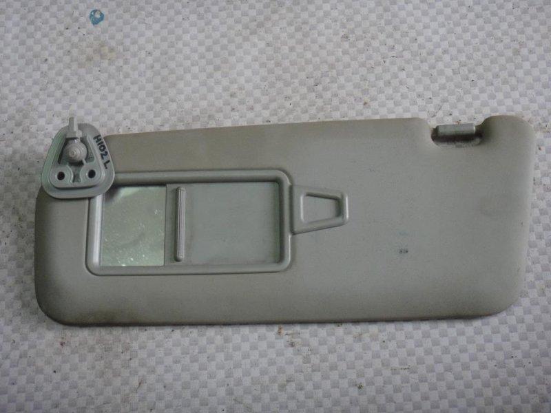 Козырек солнцезащитный Hyundai I30 FD G4FA 2009 левый (б/у)