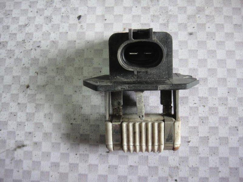 Резистор вентилятора охлаждения Hyundai I30 FD G4FA 2009 (б/у)