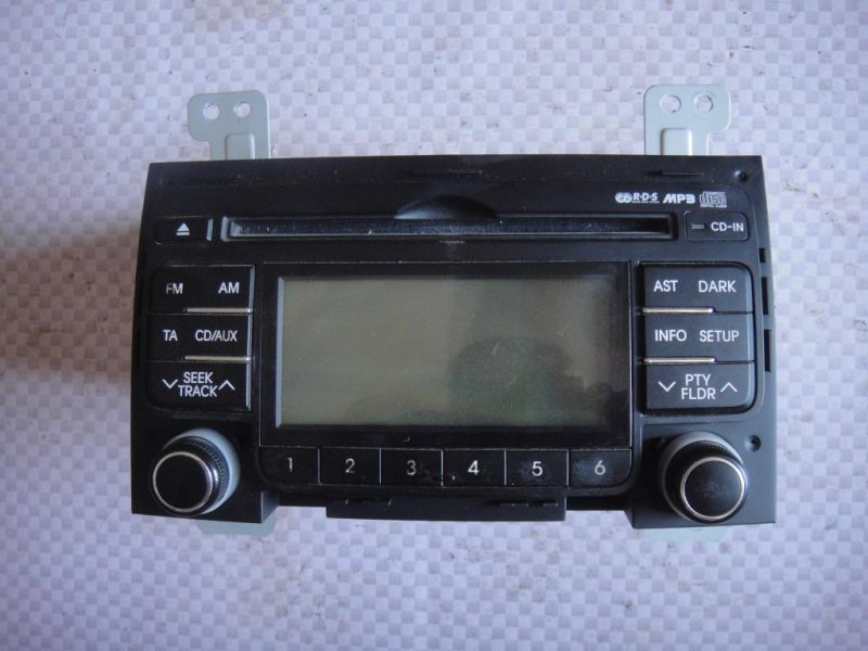 Магнитола Hyundai I30 FD G4FA 2009 (б/у)