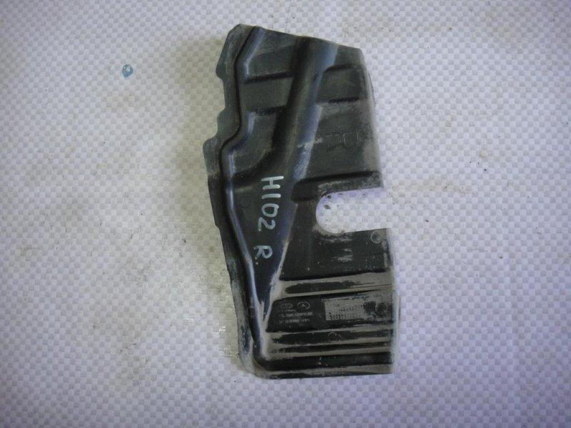 Пыльник двигателя Hyundai I30 FD G4FA 2009 правый (б/у)