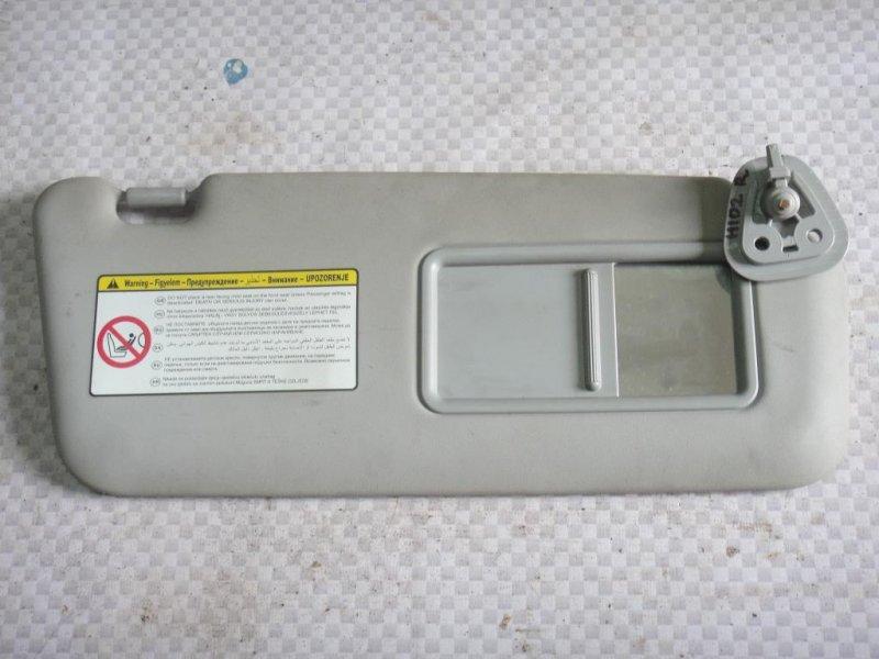 Козырек солнцезащитный Hyundai I30 FD G4FA 2009 правый (б/у)