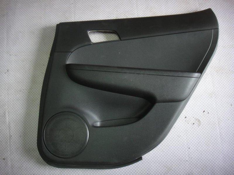 Обшивка двери Hyundai I30 FD G4FA 2009 задняя левая (б/у)