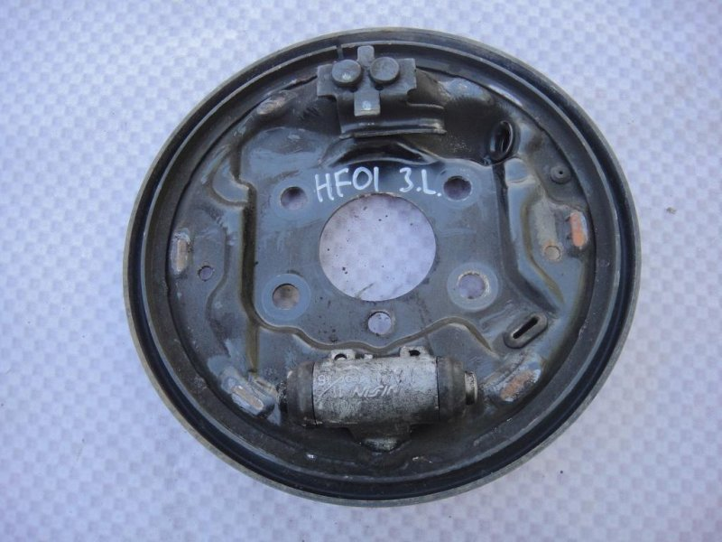 Щит опорный Honda Fit GD L15A1 2008 задний левый (б/у)