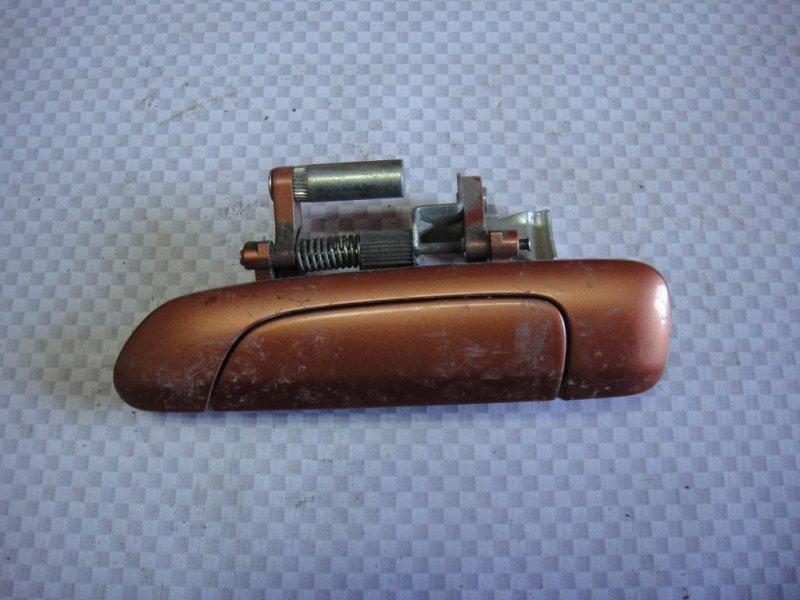 Ручка двери наружная Honda Fit GD L15A1 2008 задняя левая (б/у)