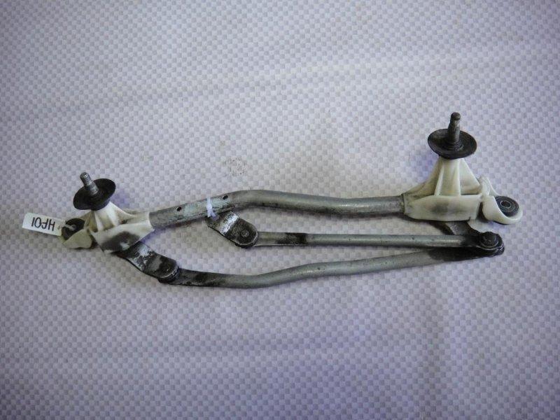 Трапеция стеклоочистителя Honda Fit GD L15A1 2008 передняя (б/у)