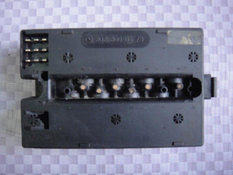 Клапан отопителя Mercedes-Benz C-Class W202 M111.961 1995 (б/у)