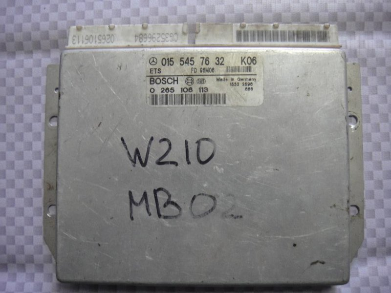 Блок управления abs Mercedes-Benz E-Class W210 M104.945 1996 (б/у)