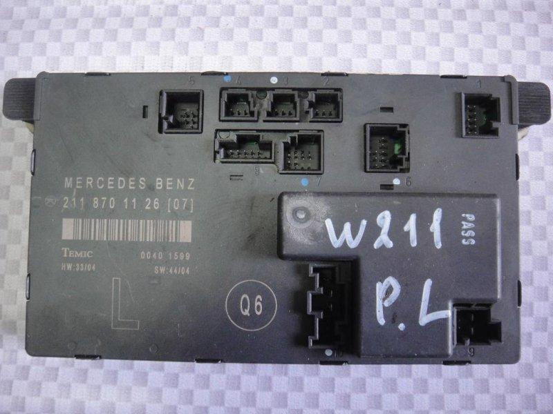 Блок управления дверьми Mercedes-Benz E-Class W211 M272.943 2006 передний левый (б/у)