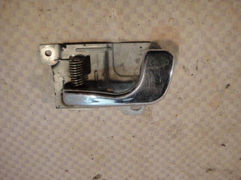 Ручка двери внутренняя Mitsubishi Pajero V33V 6G72 1991 левая (б/у)