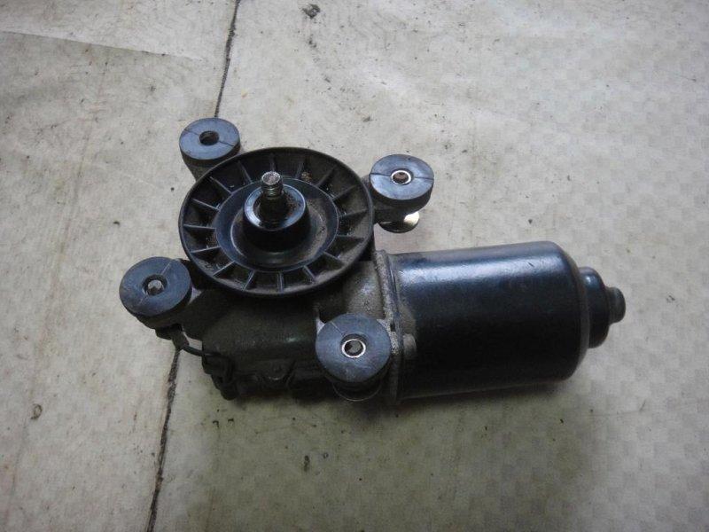 Мотор стеклоочистителя Mitsubishi Pajero V33V 6G72 1991 передний (б/у)