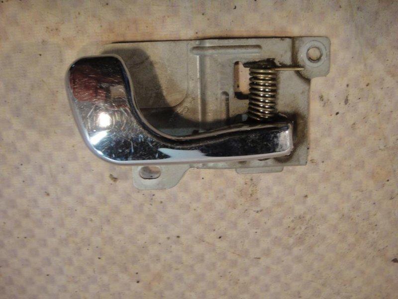 Ручка двери внутренняя Mitsubishi Pajero V33V 6G72 1991 правая (б/у)