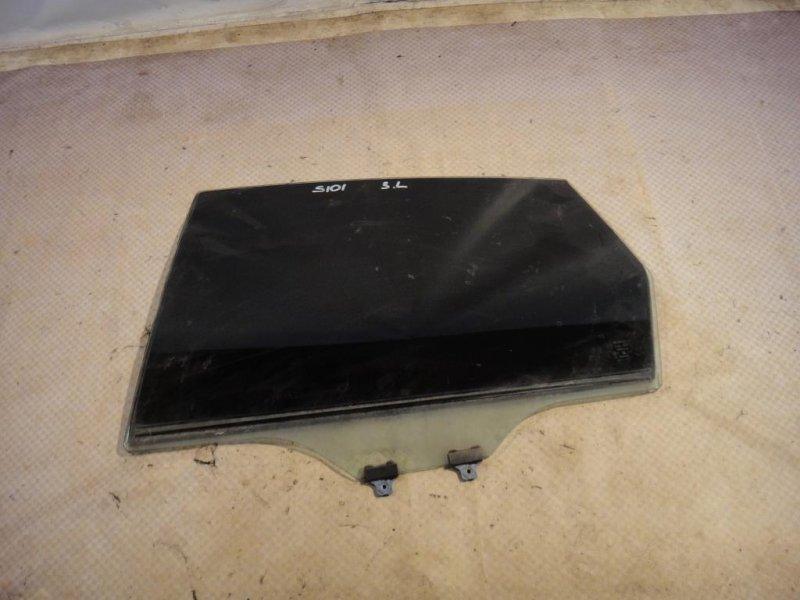 Стекло двери Subaru Impreza GE3 EL15 2008 заднее левое (б/у)