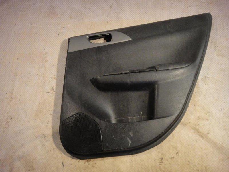 Обшивка двери Subaru Impreza GE3 EL15 2008 задняя правая (б/у)