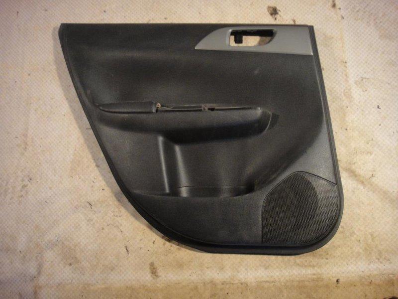 Обшивка двери Subaru Impreza GE3 EL15 2008 задняя левая (б/у)
