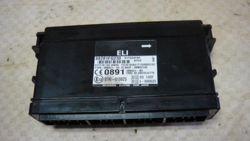 Блок электронный Subaru Impreza GE3 EL15 2008 (б/у)