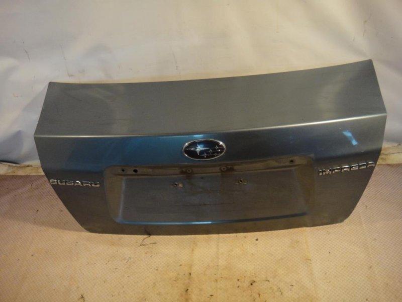 Крышка багажника Subaru Impreza GE3 EL15 2008 (б/у)