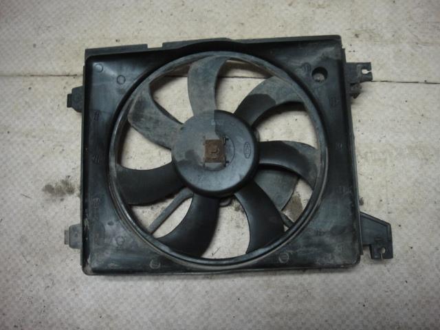 Вентилятор радиатора Hyundai Elantra XD G4ED 2004 (б/у)