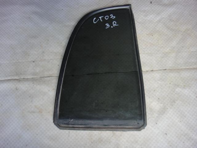 Стекло двери Chevrolet Tracker NBJ J203 2002 заднее правое (б/у)