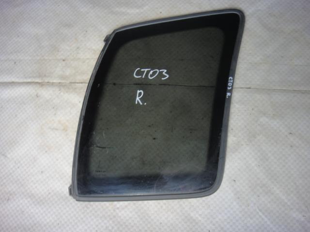Стекло кузовное глухое Chevrolet Tracker NBJ J203 2002 правое (б/у)