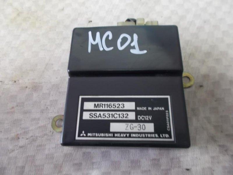 Блок управления кондиционером Mitsubishi Carisma DA2A 4G93 1998 (б/у)