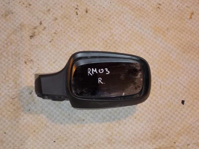 Зеркало боковое Renault Megane LM2Y K4M812 2006 правое (б/у)
