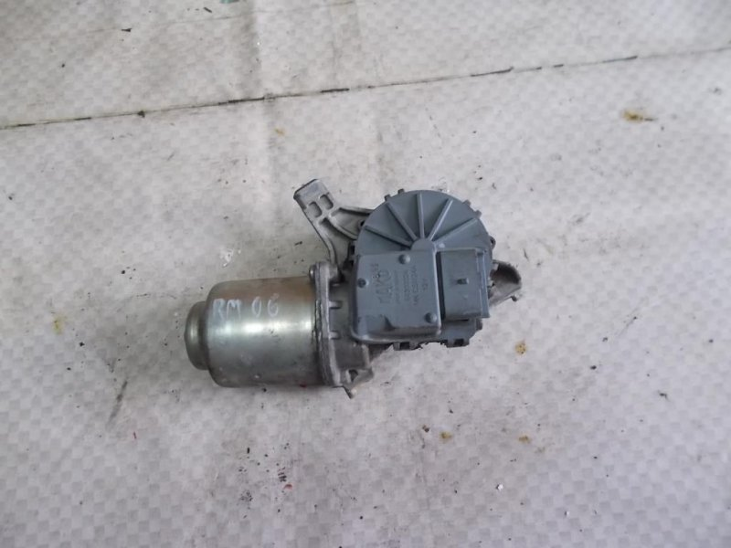 Мотор стеклоочистителя Renault Megane KZ0U K4M 2011 передний (б/у)