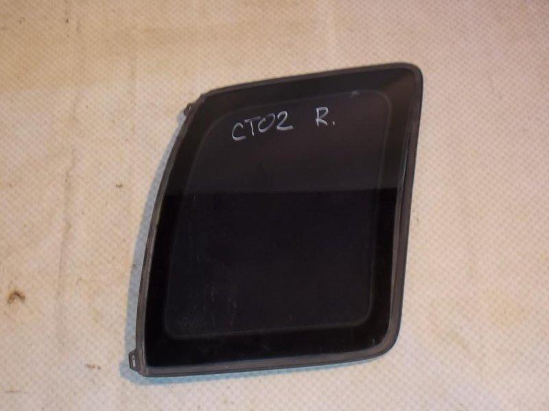 Стекло кузовное глухое Chevrolet Tracker NBJ J20A 2000 правое (б/у)