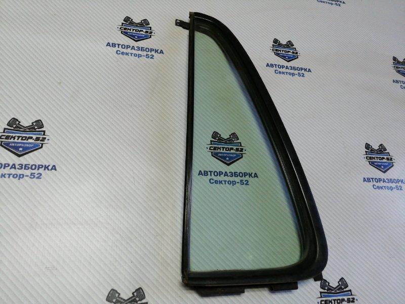 Стекло двери Honda Cr-V RD3 B20Z1 2001 заднее левое (б/у)