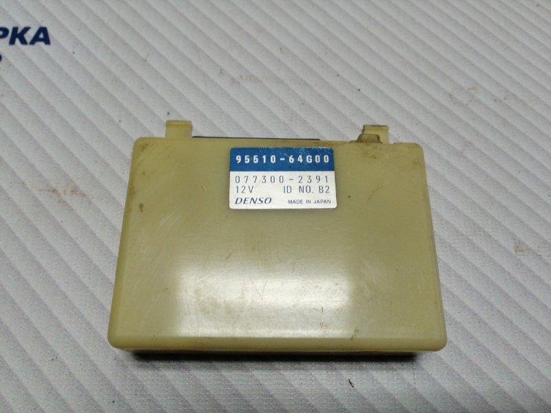 Блок управления кондиционером Suzuki Grand Vitara TD62 H25A 2001 (б/у)
