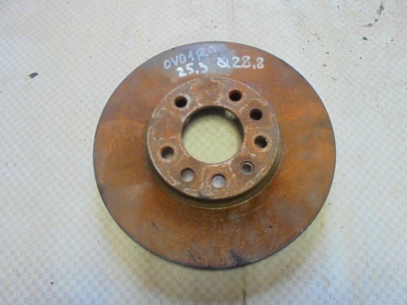 Диск тормозной Opel Vectra B X18XE1 1999 передний (б/у)