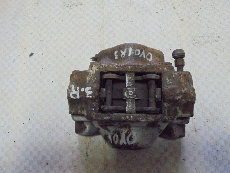 Суппорт тормозной Opel Vectra B X18XE1 1999 задний правый (б/у)