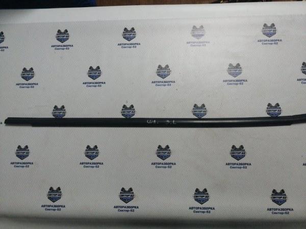 Уплотнитель стекла двери Hyundai Solaris RB G4FA 2011 задний левый (б/у)