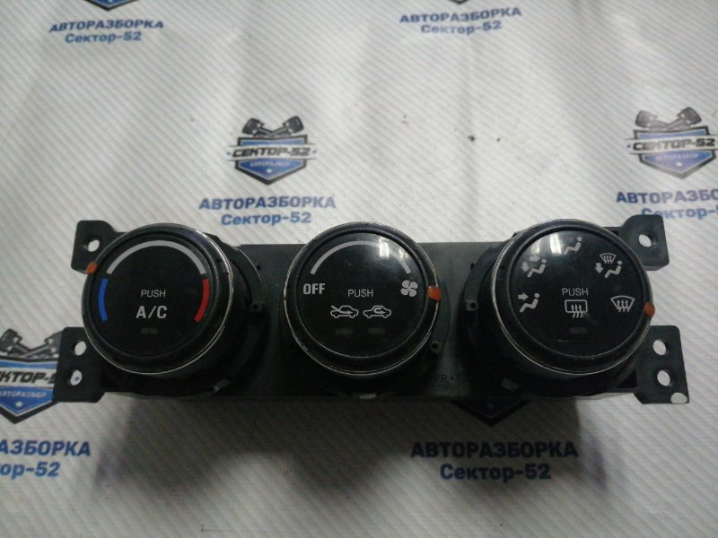 Блок управления отопителем Suzuki Liana RC31S M16A 2006 (б/у)