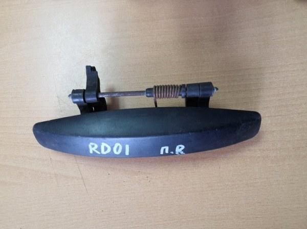 Ручка двери наружная Renault Duster HSA K4M 690 2013 правая (б/у)