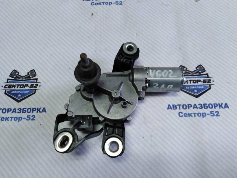Мотор стеклоочистителя Volkswagen Golf 5K1 CAVD 2010 задний (б/у)