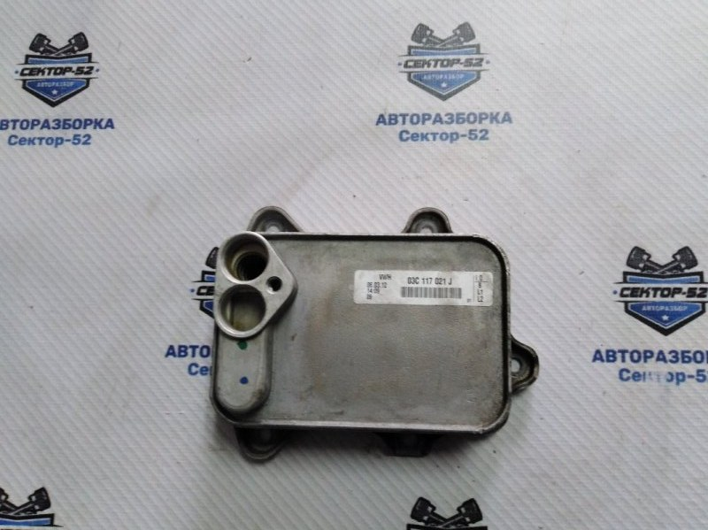 Радиатор масляный Volkswagen Golf 5K1 CAVD 2010 (б/у)