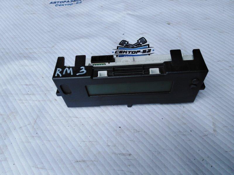 Дисплей информационный Renault Megane BM K4M812 2007 (б/у)