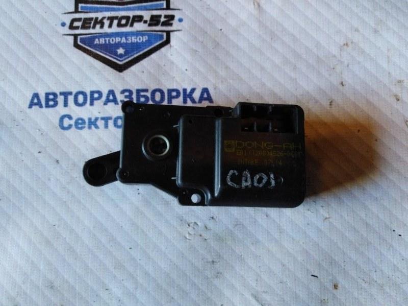 Мотор заслонки отопителя Chevrolet Aveo T250 F14D3 2008 (б/у)