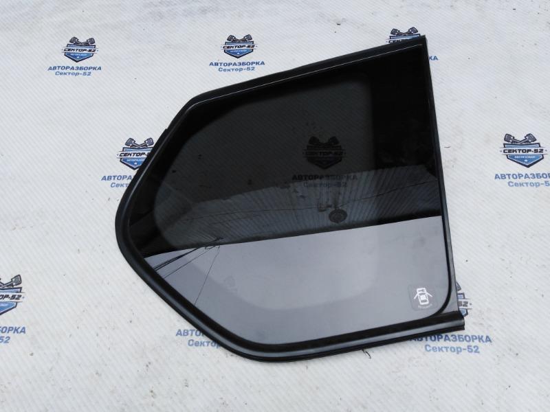 Стекло кузовное глухое Nissan X-Trail NT31 MR20DE 2008 заднее правое (б/у)