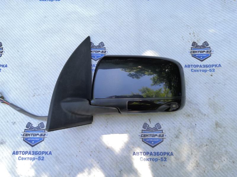 Зеркало боковое Nissan X-Trail NT31 MR20DE 2008 левое (б/у)