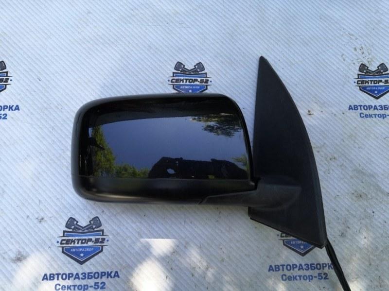 Зеркало боковое Nissan X-Trail NT31 MR20DE 2008 правое (б/у)