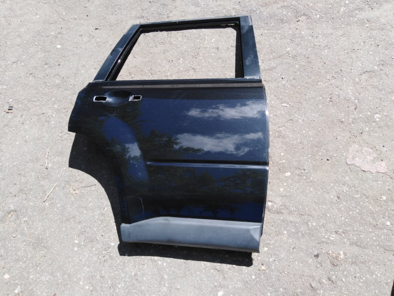 Дверь Nissan X-Trail NT31 MR20DE 2008 задняя правая (б/у)