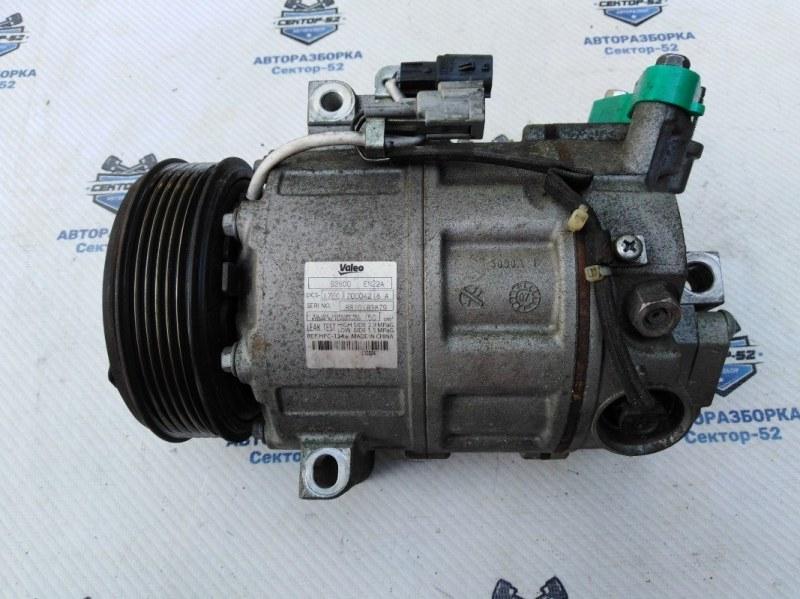 Компрессор кондиционера Nissan X-Trail NT31 MR20DE 2008 (б/у)