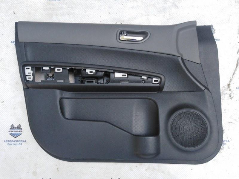 Обшивка двери Nissan X-Trail NT31 MR20DE 2008 передняя левая (б/у)